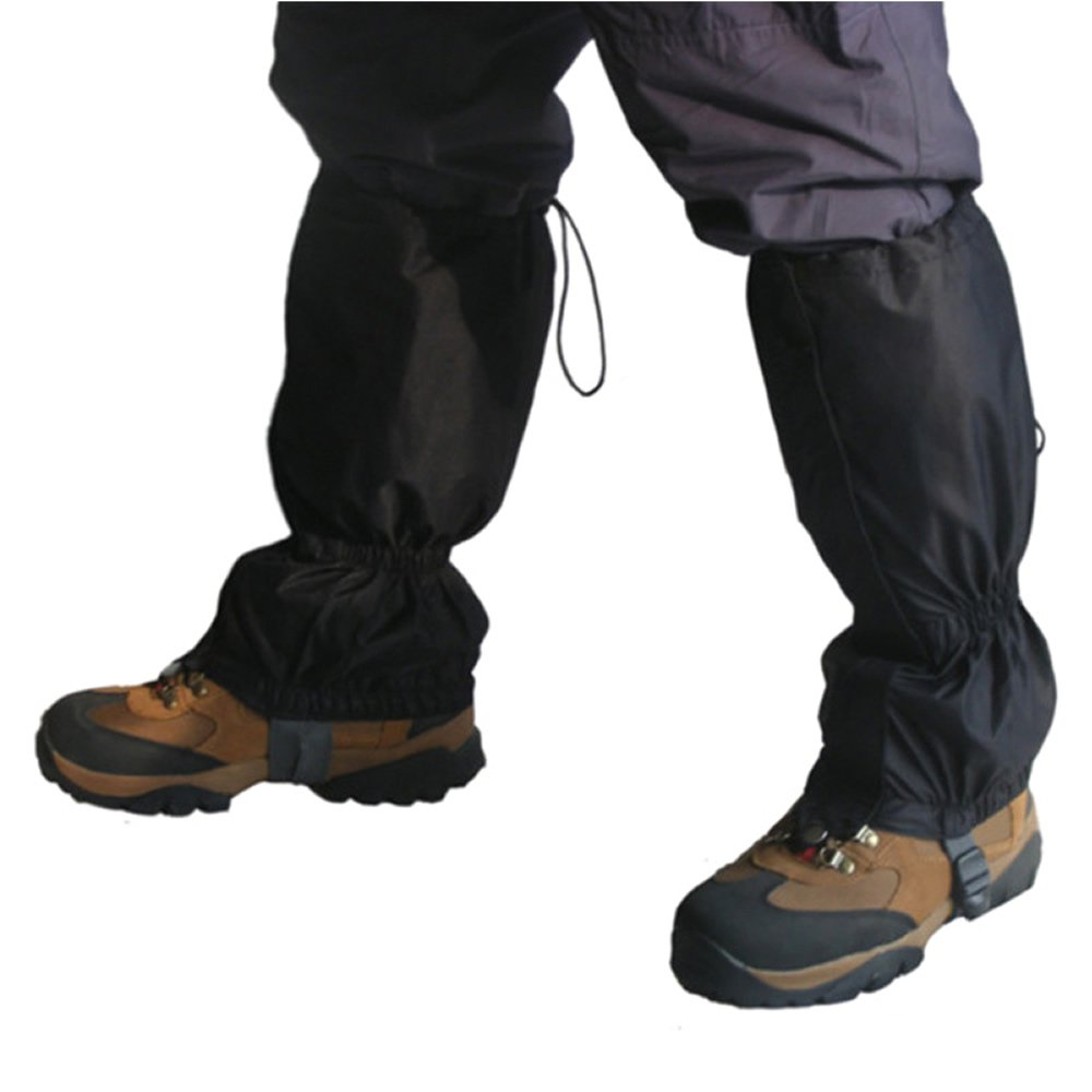 Waterproof Leg Gaiters Boot Shoe Cover Legging 16''