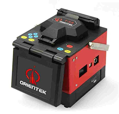 Orientek T35 Optica Fiber Fusion Splicer Kit with Fiber Cleaver, Free Shipping By Dhl/tnt Express in 24hrs by ORIENTEK