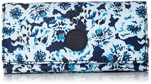 Kipling Women's New Teddi Snap Wallet, Roaming Roses - Kipling New Travel Wallet