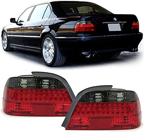 Carparts-Online 26328 Klarglas LED R/ückleuchten rot schwarz