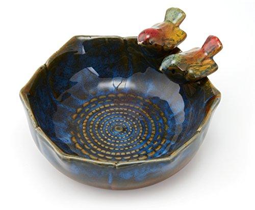 Ceramic Bowl Desktop Organizer Porcelain Decor Fruit Plate J