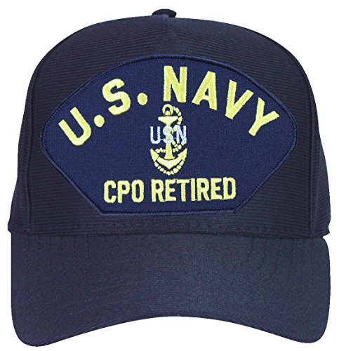 (MilitaryBest U.S. Navy CPO Retired with Anchor Ball)