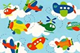 Little Planes and Helicopters Birthday Design ~ Edible Image Cake, Cupcake Topper!!!