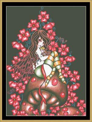 Mystic Stitch Chart - Baby Love Cross Stitch Chart