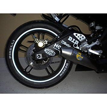 3MTM-bandas reflectantes Moto círculos Adhesivos reflectantes marca 3MTM stripe for wheel 6MT x 7 mm blanco: Amazon.es: Coche y moto