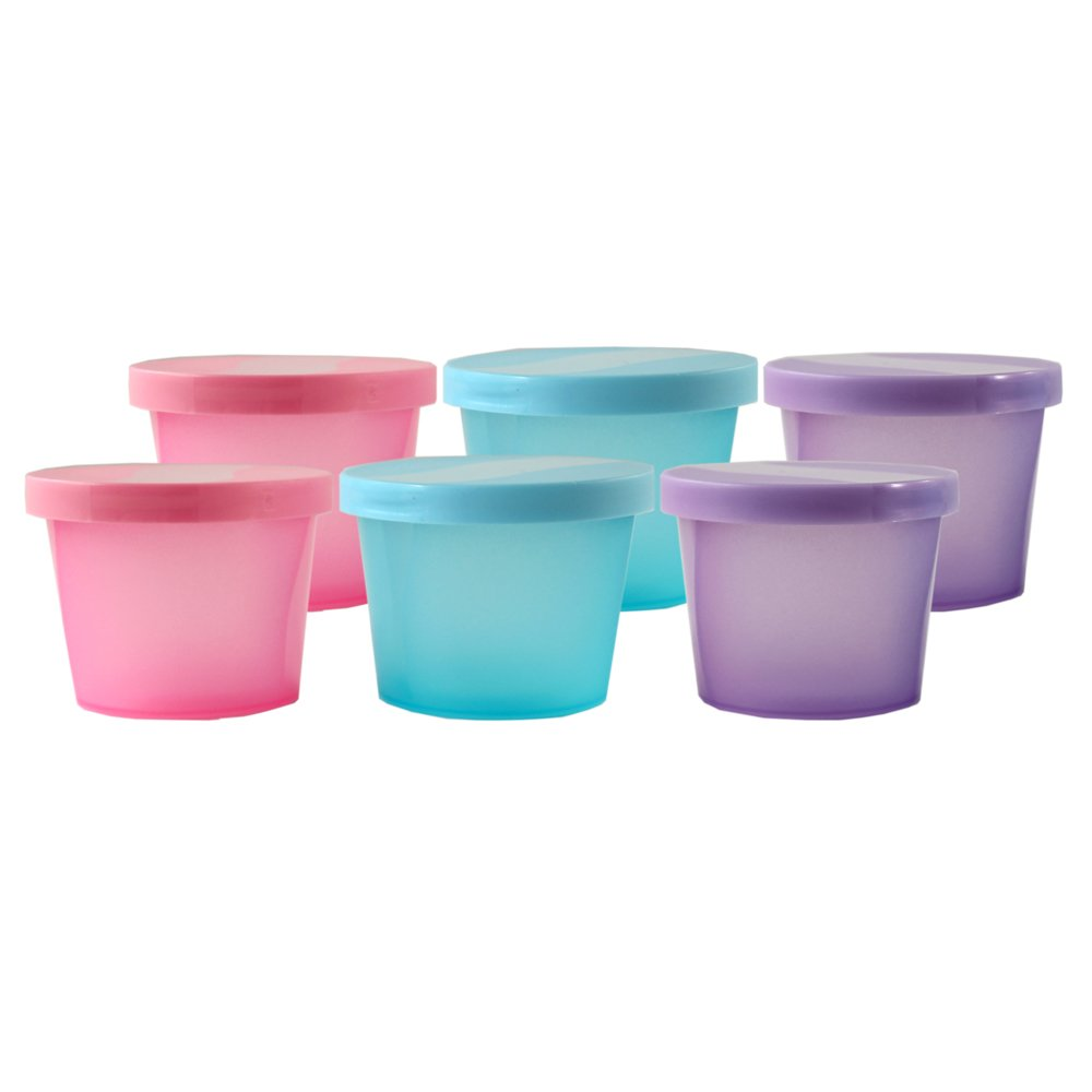 Nurtria Basic Storage Containers 6 pack – Pink