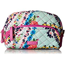 Vera Bradley Iconic Mini Cosmetic, Signature Cotton, Wildflower Paisley