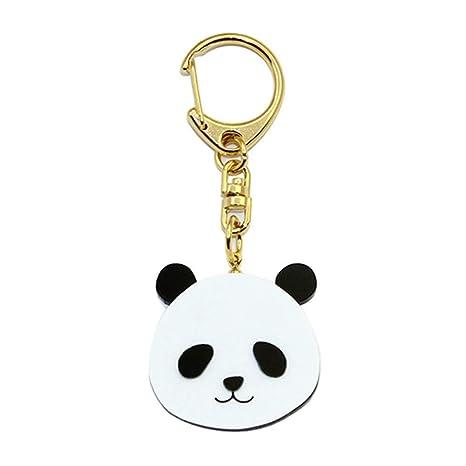 Scrox 1x Llavero Acrilico Forma Creativa Lindo Panda Chino ...