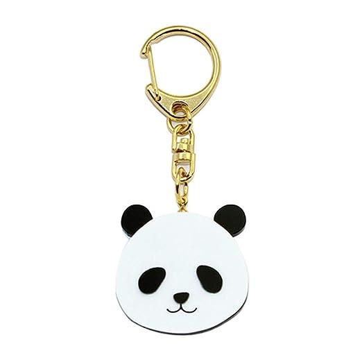 Amazon.com: Joyfeel Animal Shaped Engraved Metal Keychain ...