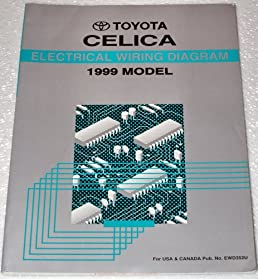 1999 toyota celica wiring diagrams st204 series toyota motor rh amazon com 1999 toyota celica gt radio wiring diagram