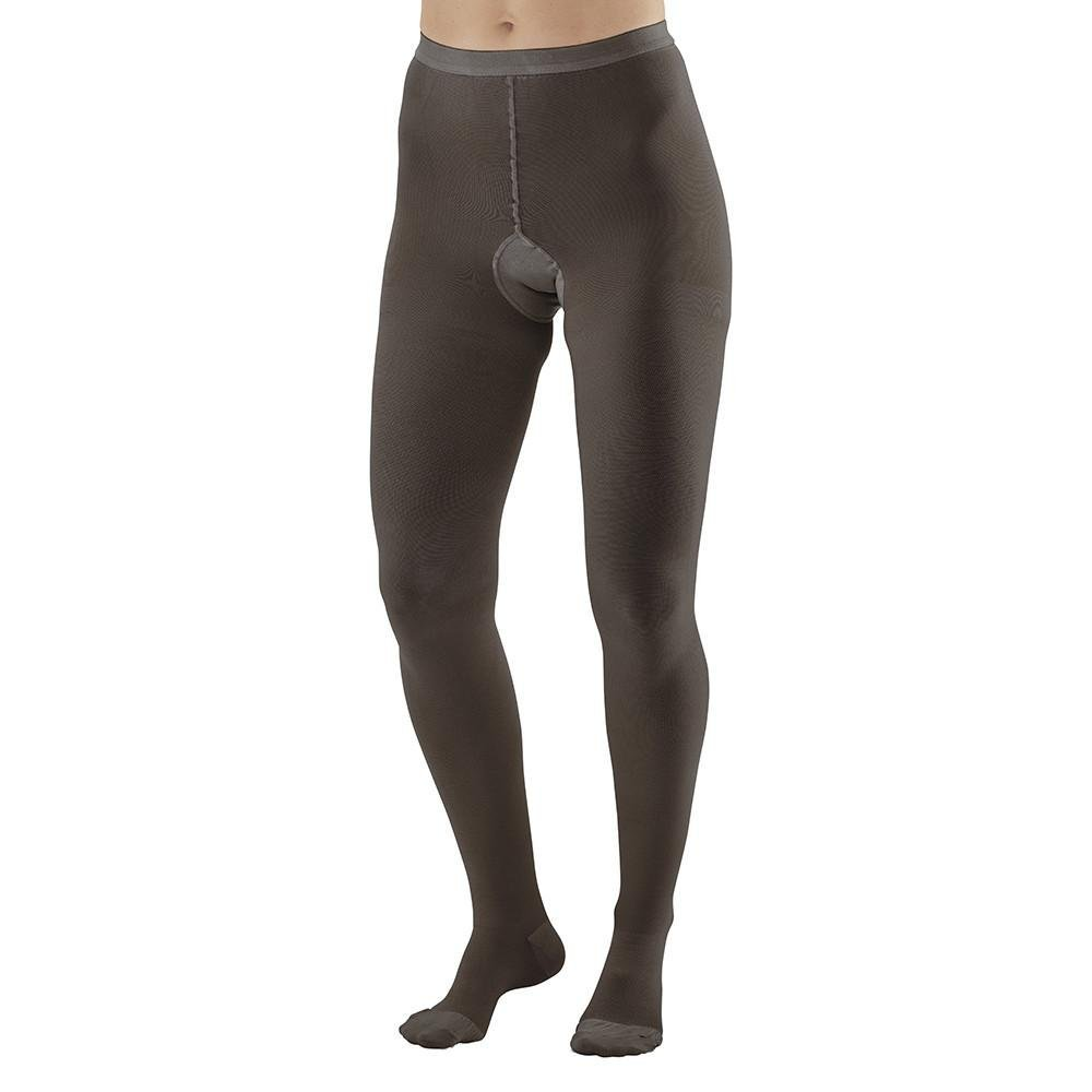 Ames Walker AW Full Figure 20-30mmHg Firm Compression Closed Toe Compression Pantyhose Black X-Tall - Relieves tired aching legs - Compression aids blood curculation - Therapeutic compression