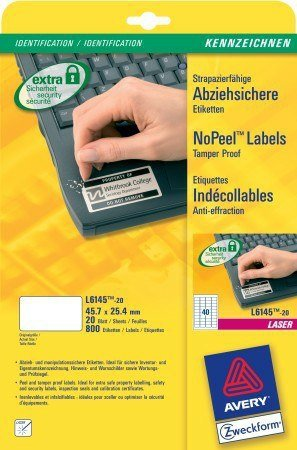 Avery L6145-20 impresora ekrelius (L6145-20): Amazon.es: Electrónica