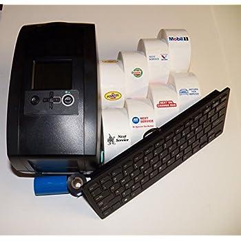 Oil Change Sticker Printer >> Amazon.com: Oil Change Sticker Printer / Service Reminder ...