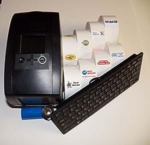 Oil Change Sticker Printer Service Reminder System Decals
