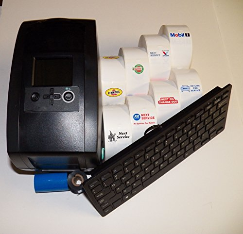 Automotive Oil Change System - Oil Change Sticker Printer / Service Reminder System