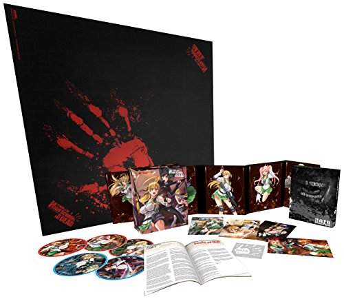 High School of the Dead Collectors Edition DVD/BD Boxed Set [Blu-ray] by Section23 Films