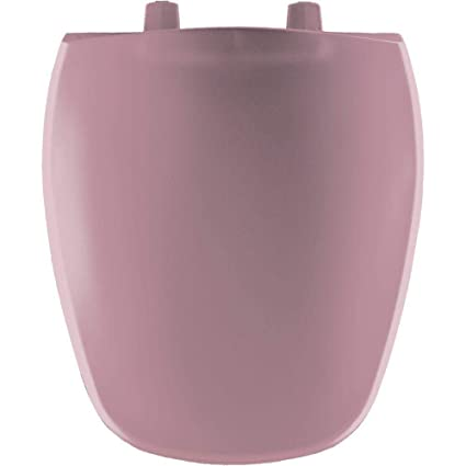 Brilliant Bemis 1240200 303 Round Closed Front Toilet Seat Dusty Rose Uwap Interior Chair Design Uwaporg