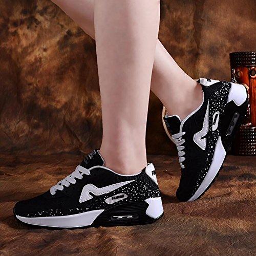 Laufende rüttelnde beiläufige stoßdämpfende Sport 37 im C Frauen YaXuan Schuhe Turnschuhe Eignung Schuhe Freien Radfahren Farbe Turnhallen B Athletische Größe qtXvnw5x