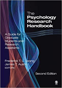 Book The Psychology Research Handbook: A Guide for Graduate Students and Research Assistants by Frederick T. L. Leong (2005-09-08)