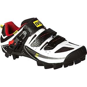 Mavic Zapatillas de ciclismo para hombre, color blanco, tamaño 46