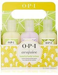 OPI Avojuice Hand Lotion, Minis Sampler 6-Pack, 6 Fl Oz