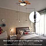 Bronze fan pull chain with 35.4 inches