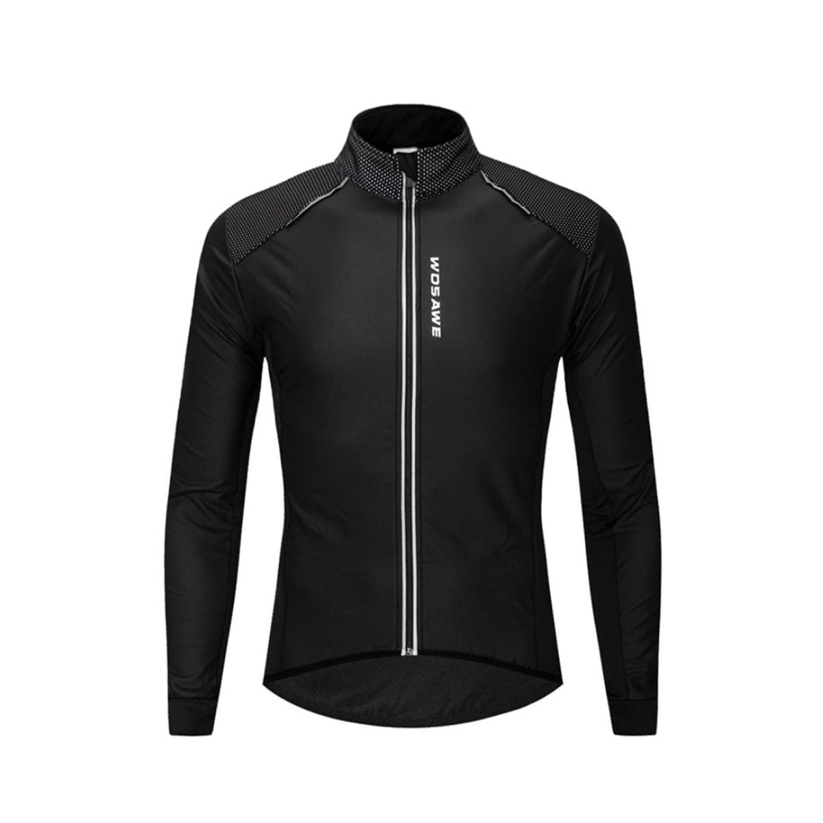 SKRCOOL Giacca Ciclismo Impermeabile Ciclismo Termico a Manica Lunga Giacca Invernale in Pile Ciclismo,M