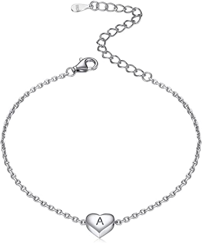 Argent 925 fashion élégant solide Femmes Charme Chaîne Bracelet Bijoux