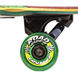 Santa Cruz Skate Mahaka Rasta Cruzer Skateboard (9.9 x 43.5-Inch)