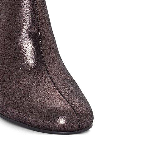 La Redoute Collections Frau Boots mit Schleifendetail Gre 38 Schwarz 97j1jmhz