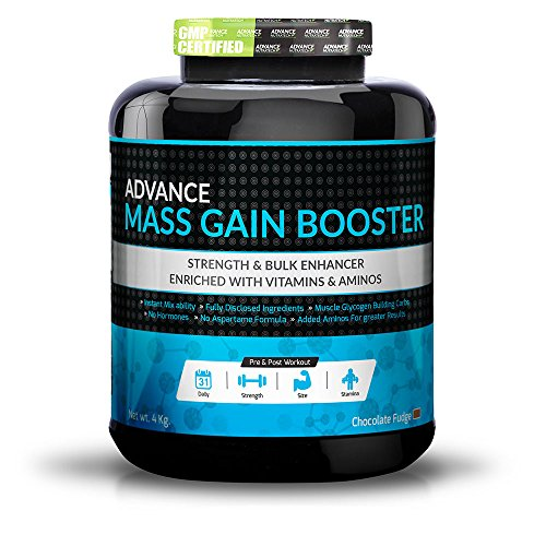 Mass Gain Booster 4kg Chocolate by ADVANCE NUTRATECH