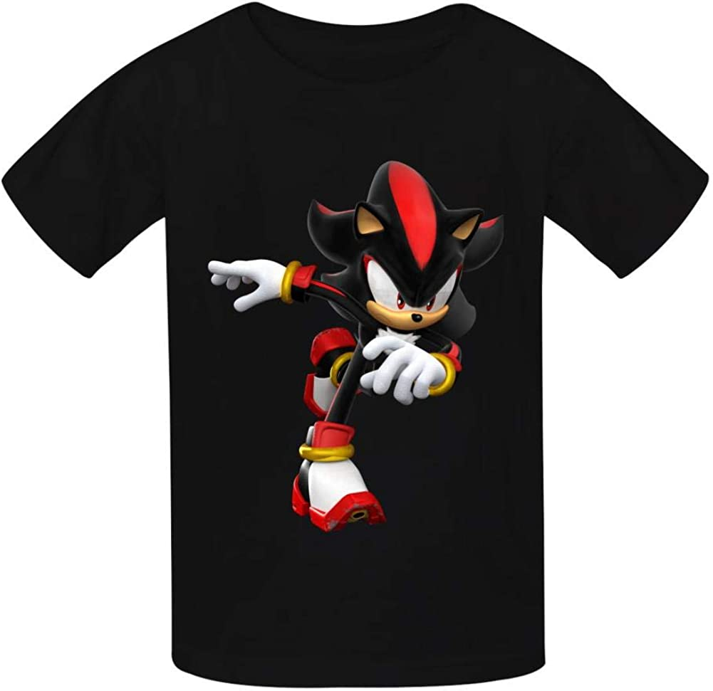 VSHFGC Kid//Youth Sha-dow The Hed-gehog T-Shirts 3D Short Sleeve Tees for Girls Boys