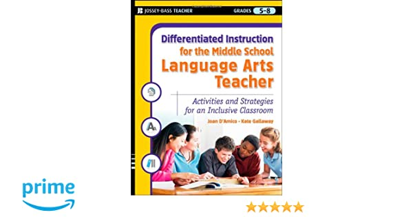 Amazon.com: Differentiated Instruction for the Middle School ...