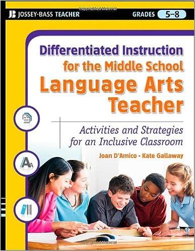 Workbook differentiated instruction worksheets : Amazon.com: Differentiated Instruction for the Middle School ...