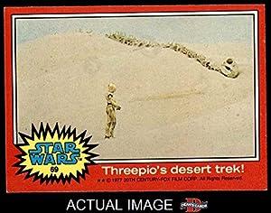 1977 Topps Star Wars # 69 Threepio's desert Trek (Card) Dean's Cards 6 - EX/MT