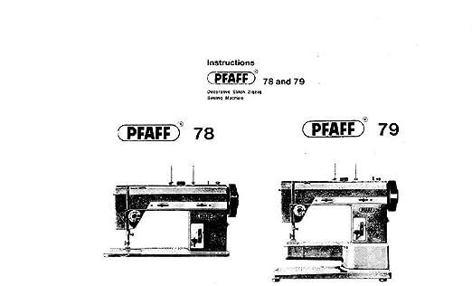 Descargar Pdf-File Pfaff 79 máquina de coser: Amazon.es: Hogar