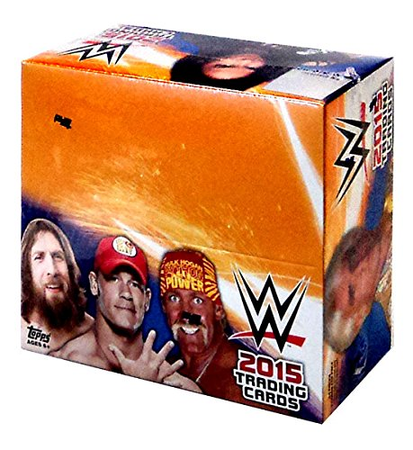 WWE Wrestling WWE 2015 Trading Cards Hobby Box by Topps