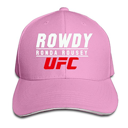 Price comparison product image Runy Ronda Rousey Adjustable Sandwich Hunting Peak Hat & Cap Pink