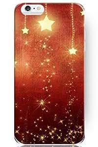 "ZLXUSA(TM) New Personalized Hard Golden Shine Stars for iPhone 6 Plus (5.5"") Case Christmas hjbrhga1544"