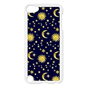 Personalized Unique Design Case for Ipod Touch 5, Sun Moon Space Nebula Cover Case - HL-513898
