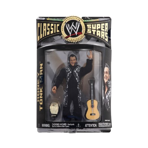 WWE - 2007 - Classic Super Stars - Series 14 - Honky Tonk Man - w/ Guitar & Championship Belt - Limited Edition - Mint - Collectible