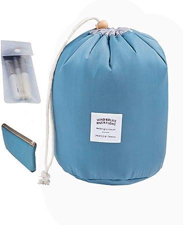 Estuche organizador de cosméticos impermeable, bolsa de aseo con colgador: Amazon.es: Hogar