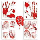Halloween Bloody Window Wall Floor Clings Decal