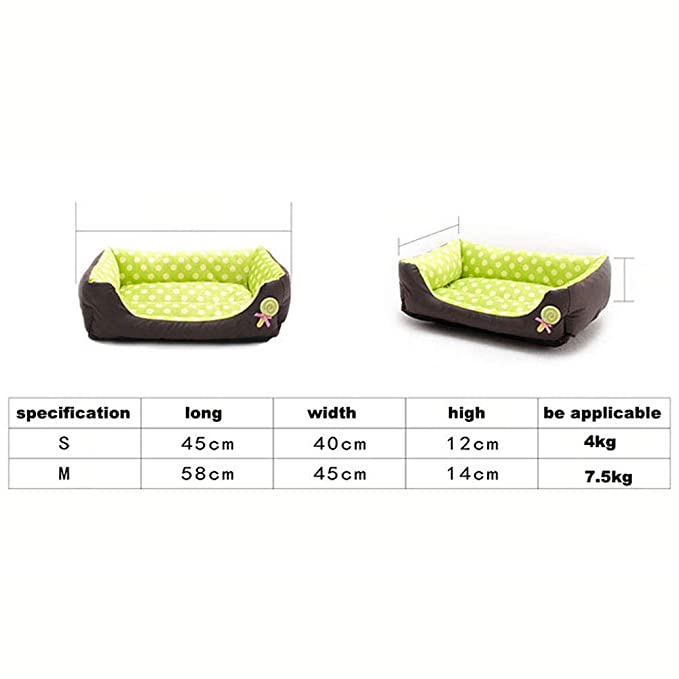 SPTHY Suministros para Mascotas Kennel Dog Bed, Warm Pet ...