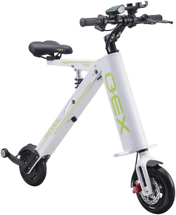W-BIKE Coche eléctrico Plegable Batería de Litio para Adultos Bicicleta Triciclo Batería de Litio Portátil Plegable Batería de Viaje (Puede soportar Peso 150 KG)