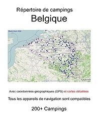 Répertoire de campings BELGIQUE (avec coordonnées géographiques et cartes détaillées)
