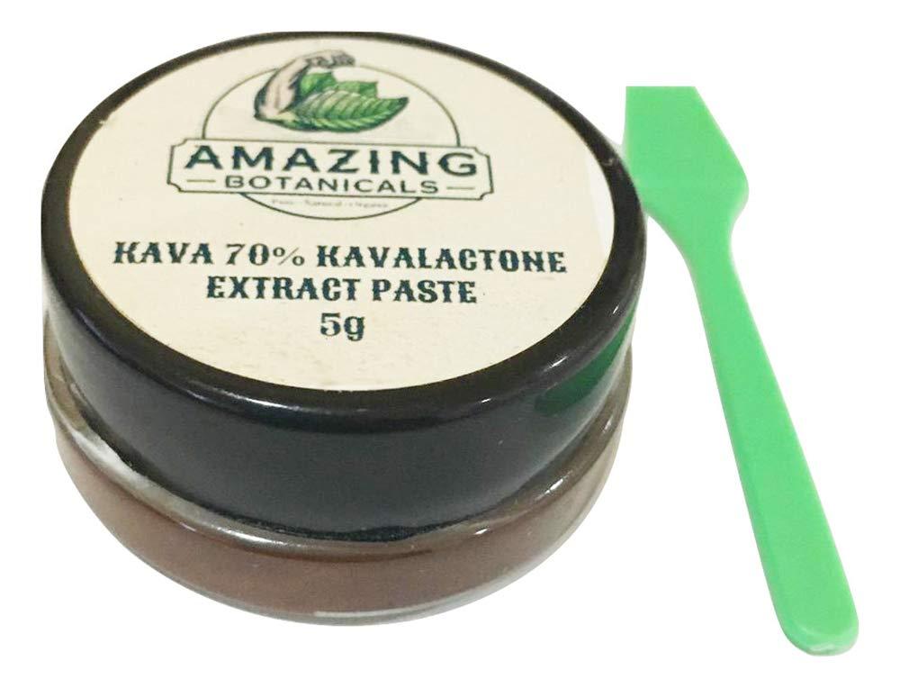 AMAZING BOTANICALS Kava Kava 70% Kavalactone Extract Paste (5g)