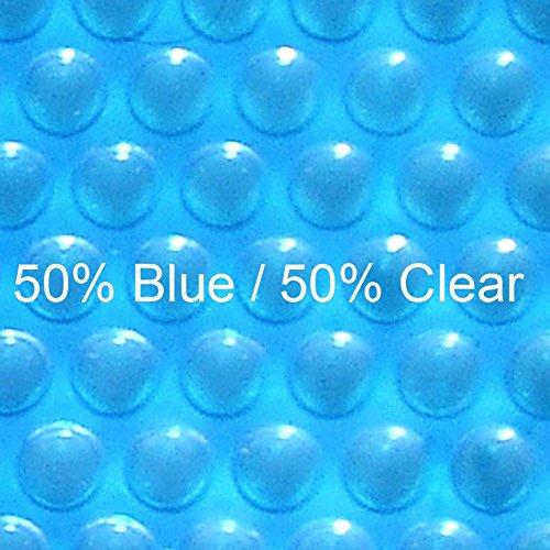 (12 ft x 18 ft Rectangular Solar Cover-Blue Clear 12ML)