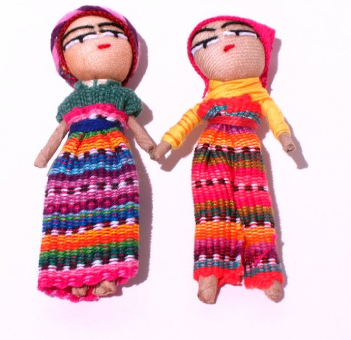 - Worry Doll 3 Inch - Two Dolls