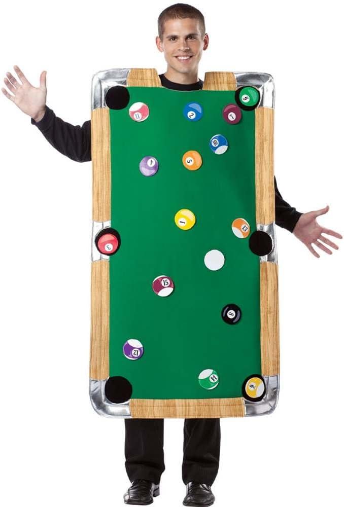 Desconocido Disfraz mesa de billar para hombre: Amazon.es: Juguetes y juegos
